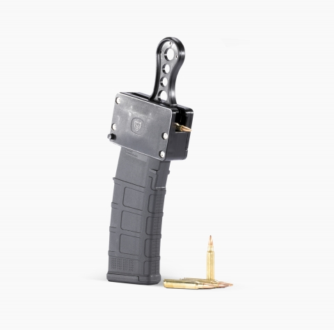 MagDump AR-15 quickly and easily unloads all Mil-Spec AR-15 magazines