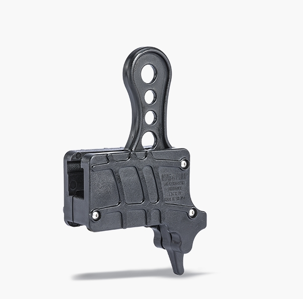 MagDump AK-47 magazine unloader is injection molded polymer